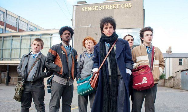 Cast from Sing Street