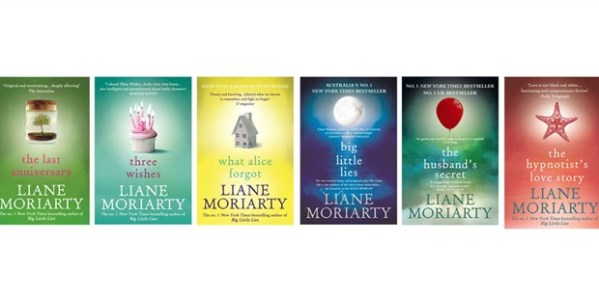 Liane Moriarty's book covers