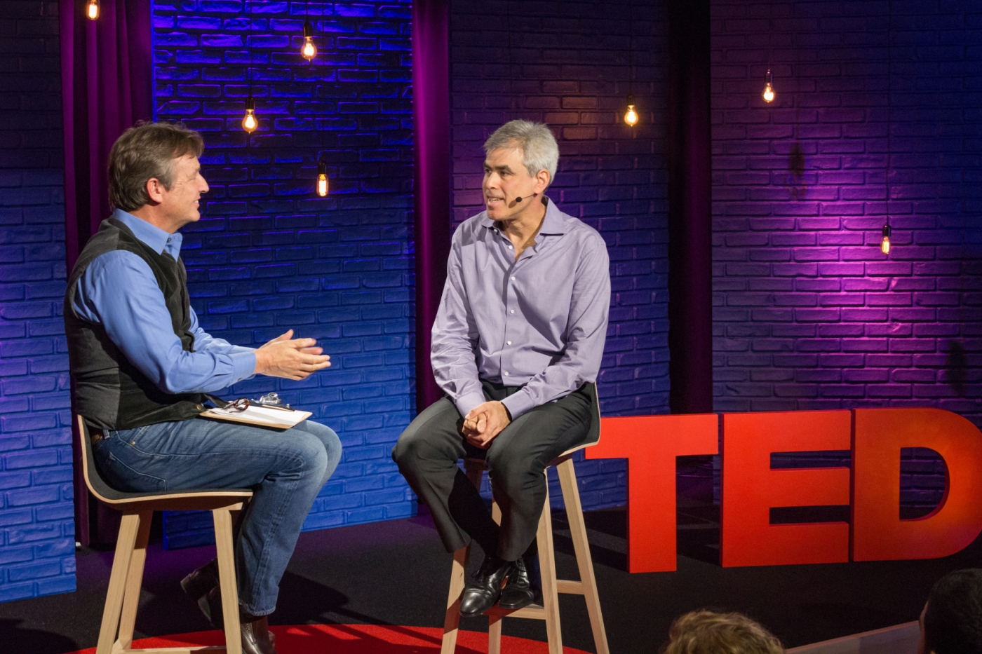 TED Curator Chris Anderson interviews Jonathan Haidt