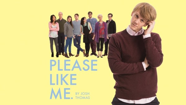 Please Like Me by Josh Thomas. Image of Josh and cast of show.