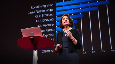 Susan Pinker's TED Talk on The Secret to Living Longer May Be Your Social Life