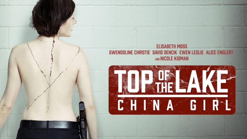 Top of the Lake: China Girl - image of Elisabeth Moss's back with blood.