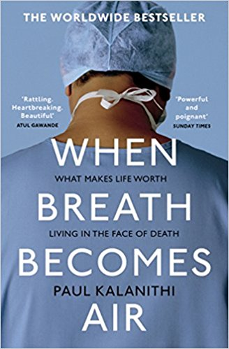 Book cover of When Breath Becomes Air by Paul Kalanithi
