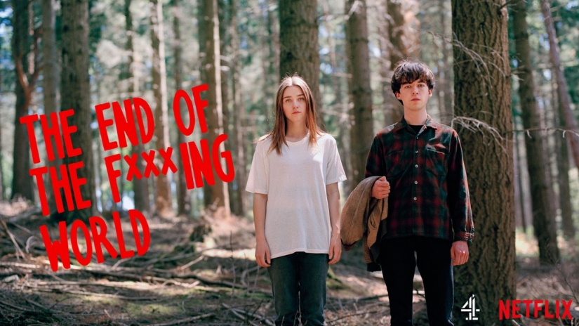 The End of the F***ing World on Netflix with Jessica Barden and Alex Lawther.